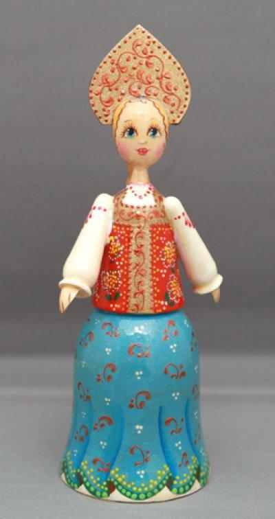 画像1: 木製ロシア人形A
